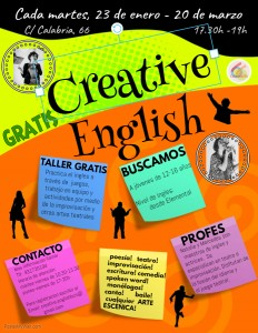 CREATIVE ENGLISH FLYER